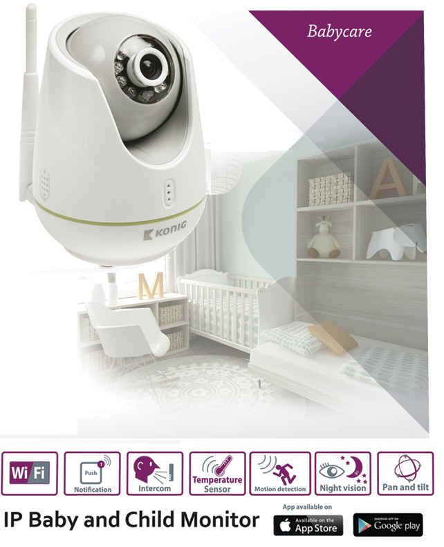 baby monitor elektronick ch vi ka. Black Bedroom Furniture Sets. Home Design Ideas